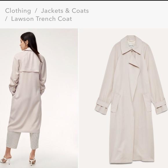 Aritzia Jackets & Blazers - Aritzia Babaton Lawson Trench Coat